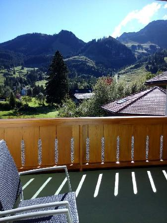Hostellerie am Schwarzsee: 阳台躺椅