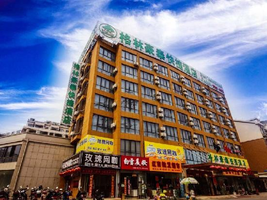 GreenTree Alliance Ma'anshan Hongqi Middle Road Zhuran Museum Hotel: 外立面