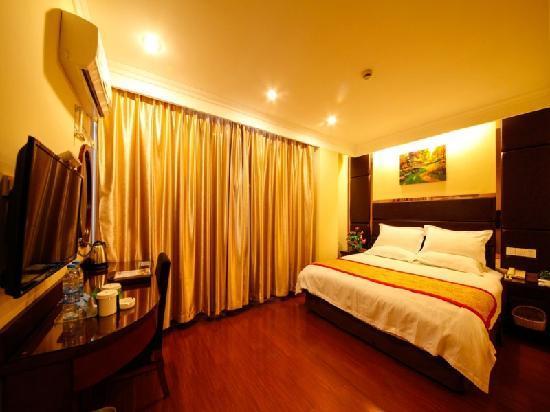 GreenTree Inn Ma'anshan Economic and Technical Development Zone Hongqi South Road Express Hotel: 客房
