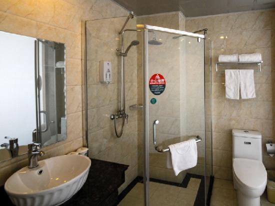 GreenTree Inn Ma'anshan Economic and Technical Development Zone Hongqi South Road Express Hotel: 卫生间