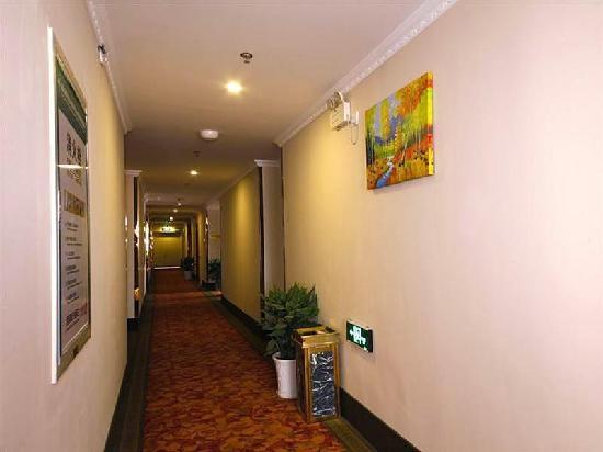 GreenTree Inn Ma'anshan Economic and Technical Development Zone Hongqi South Road Express Hotel: 走廊