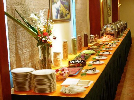 GreenTree Inn Dongguan Houjie Business Hotel: 早餐