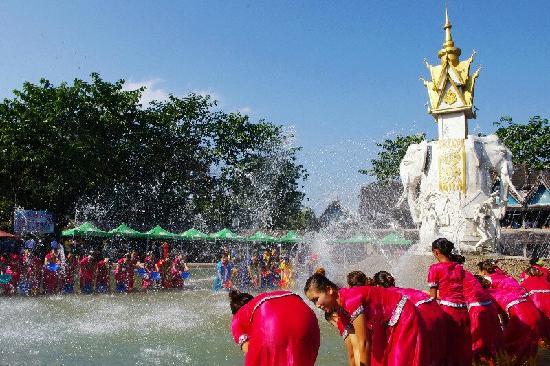 Xishuangbanna Dai Nationality Garden: 泼水节