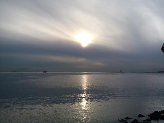Manila Bay: 日落