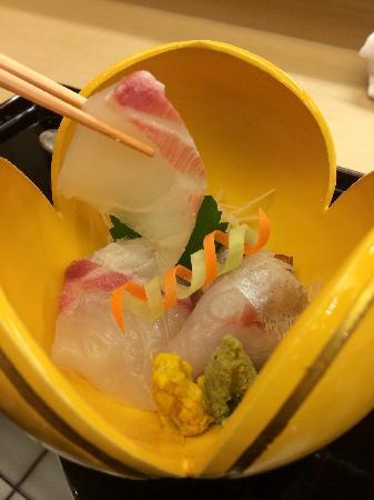 Roan Kikunoi, Kiyamachi: 鲷鱼