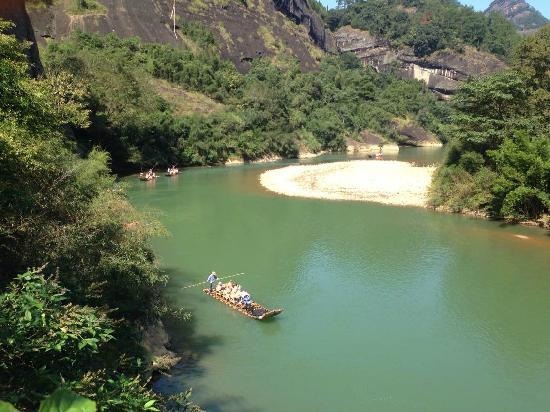 Jiuqu Stream in Wuyishan Mountain : 2