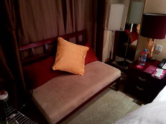 Soluxe Shazhou Hotel: 沙发