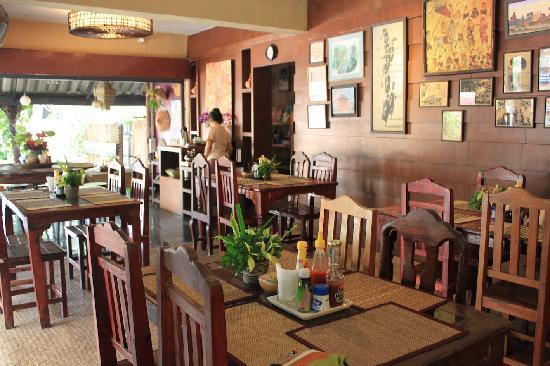 Baan Tawan Pai Boutique Guesthouse : 餐厅