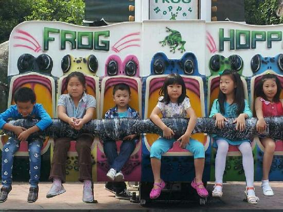 Suzhou Amusement Park: 苏州乐园青蛙跳