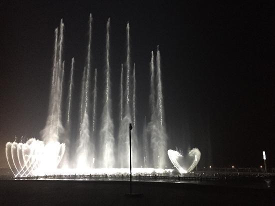 Haizhiyun Park : 东港的音乐喷泉