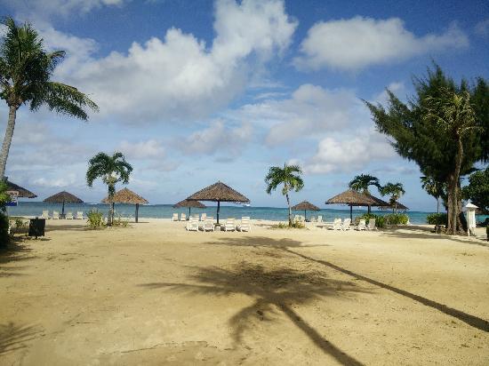 Hyatt Regency Saipan: 塞班凯悦酒店沙滩