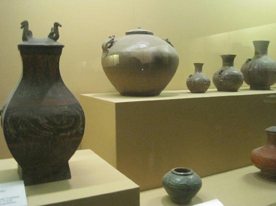 Xianyang Museum (Xianyang Bowuguan): 陶器展览