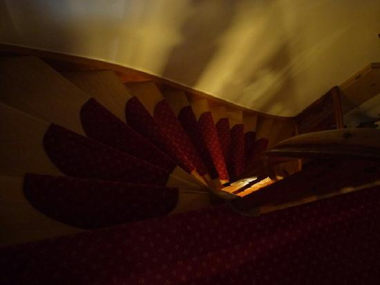 Hotel Fruhlingsgarten : 漂亮的楼梯