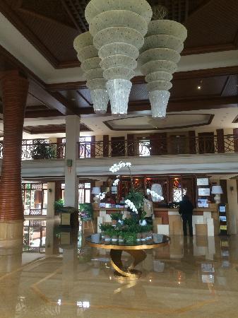 Mile Hot Spring Hotel: 酒店大堂