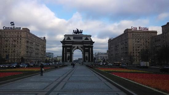 Triumphal Arch : 莫斯科凯旋门