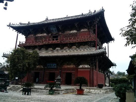 Temple of Solitary Joy (Dule si): 独乐寺观音阁