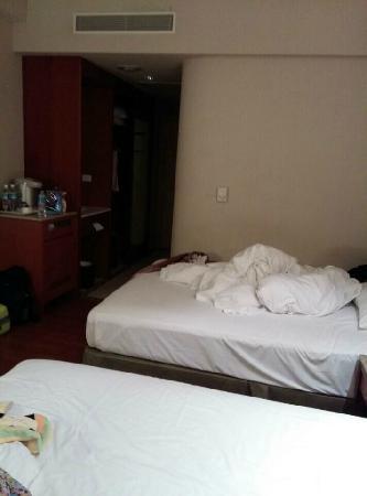 Hualien Charming City Hotel: 床大
