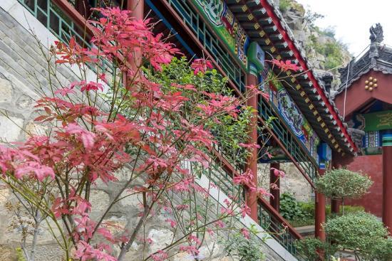 Anyang County, Κίνα: 安阳长春观长廊