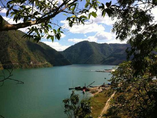 Mangkang County, Chine : 澜沧江