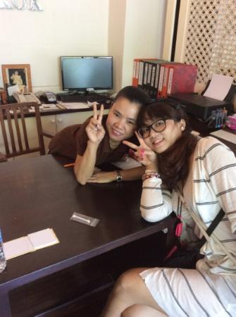 Sabye Bangkok Hotel : 热情的