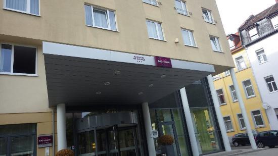 Mercure Hotel Mannheim am Rathaus: 酒店大门