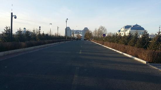 Manzhouli Nation Gate Scienc Resort: 威严国门