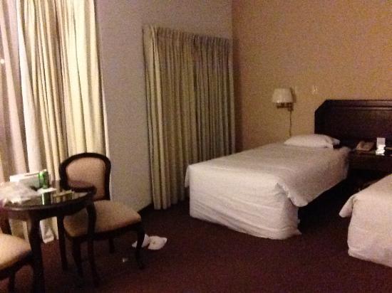 New Corpac Hotel: 双床的标间