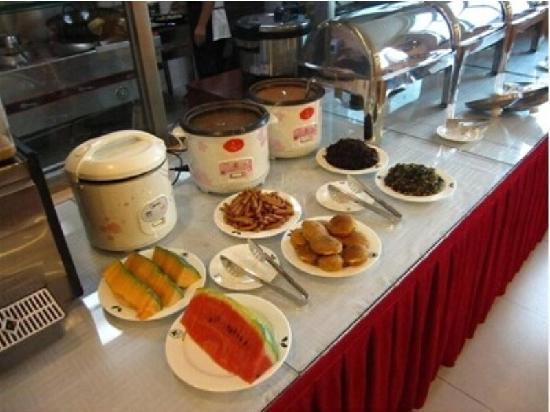 Jiaxiang County, Kina: 早餐