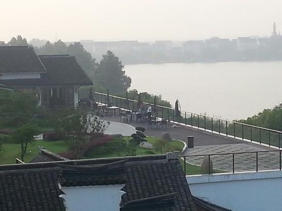 Nanbei Lake Huguang Shanju Villa: 观景平台