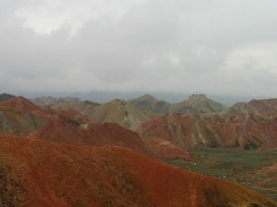 Linze County, Çin: 张掖丹霞地质公园