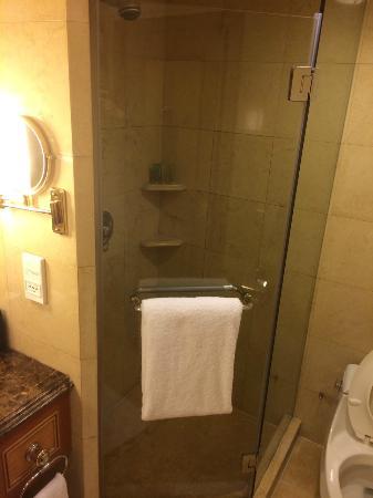Boyue Beijing Hotel: 浴室一角