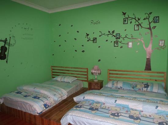 Jieguanting Hostel: 亲子房