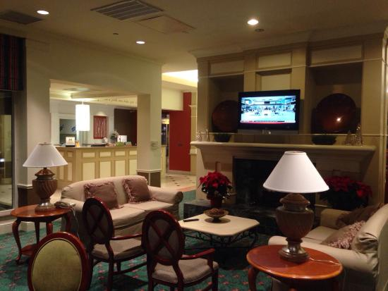 Hilton Garden Inn Houston / Bush Intercontinental Airport: 大堂和前台