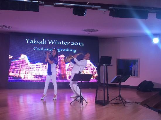 Club Med Yabuli : 酒吧驻唱