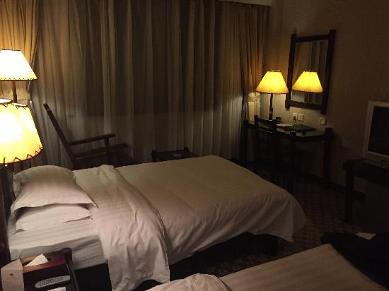 Spa Vacation Centre: 直通中心温泉的酒店客房