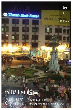 Dalat Plaza Hotel: 大叻集市, 巴刹, 夜市奇覌
