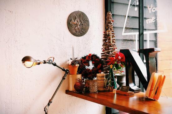 Apple Room Hostel : 圣诞节的气氛