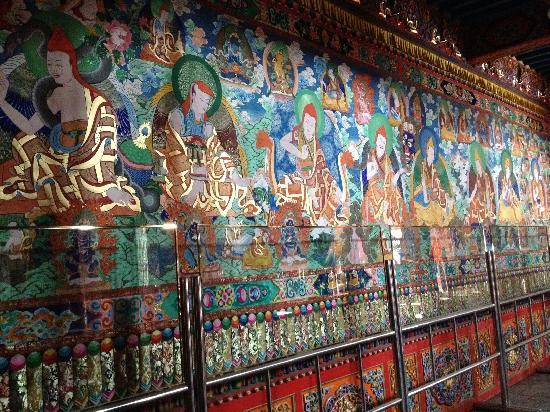 Dazhao Temple: 壁画