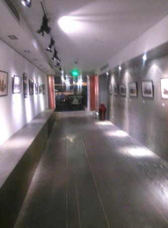 8 Art Hotel on the Bund : 艺术长廊,超爱上面的摄像头呢