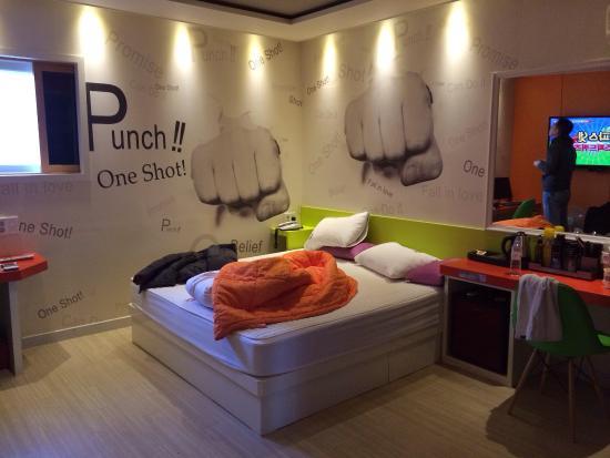 Haeundae On Motel: 酒店内景