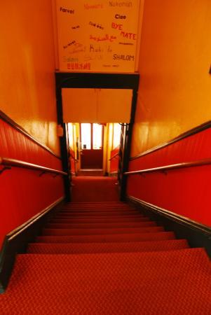 USA Hostels San Diego: 旅舍的楼梯