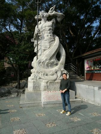 Mt. Shijing Park: 终于见到渔夫了
