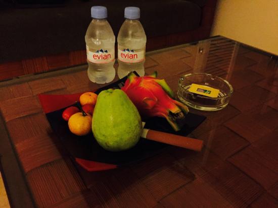 Holiday Inn Resort Sanya Bay: 欢迎水果饮料