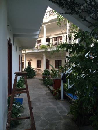 Lavita Hotel: 左边是靠泳池的房间,房间较大,正面是临山的房间,安静但房间很小,价格也比这边要贵