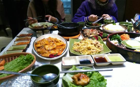 Korean JiangJun NiuPai KaoRou Restaurant (XiDa Zhi Jie)
