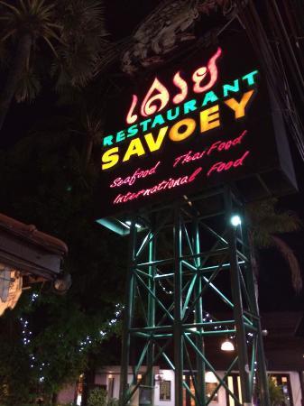 Savoey Restaurant : v