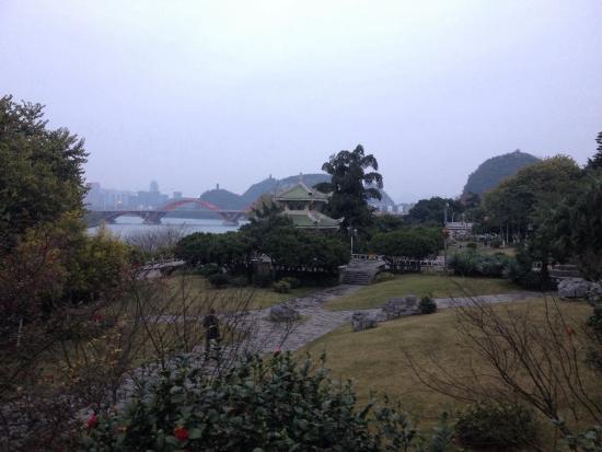 Jiangbin Park of Liuzhou : 不错的公园