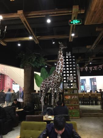 Zoot Coffee : 长颈鹿内饰