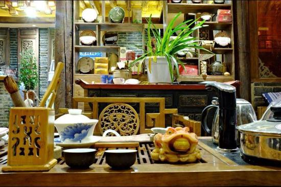 Baisha Holiday Resort Lijiang: 大堂茶台