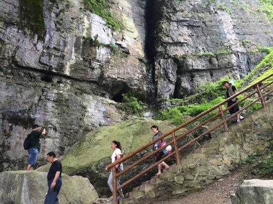 Jinyun Mountain Natural Reserve: 爬山真累